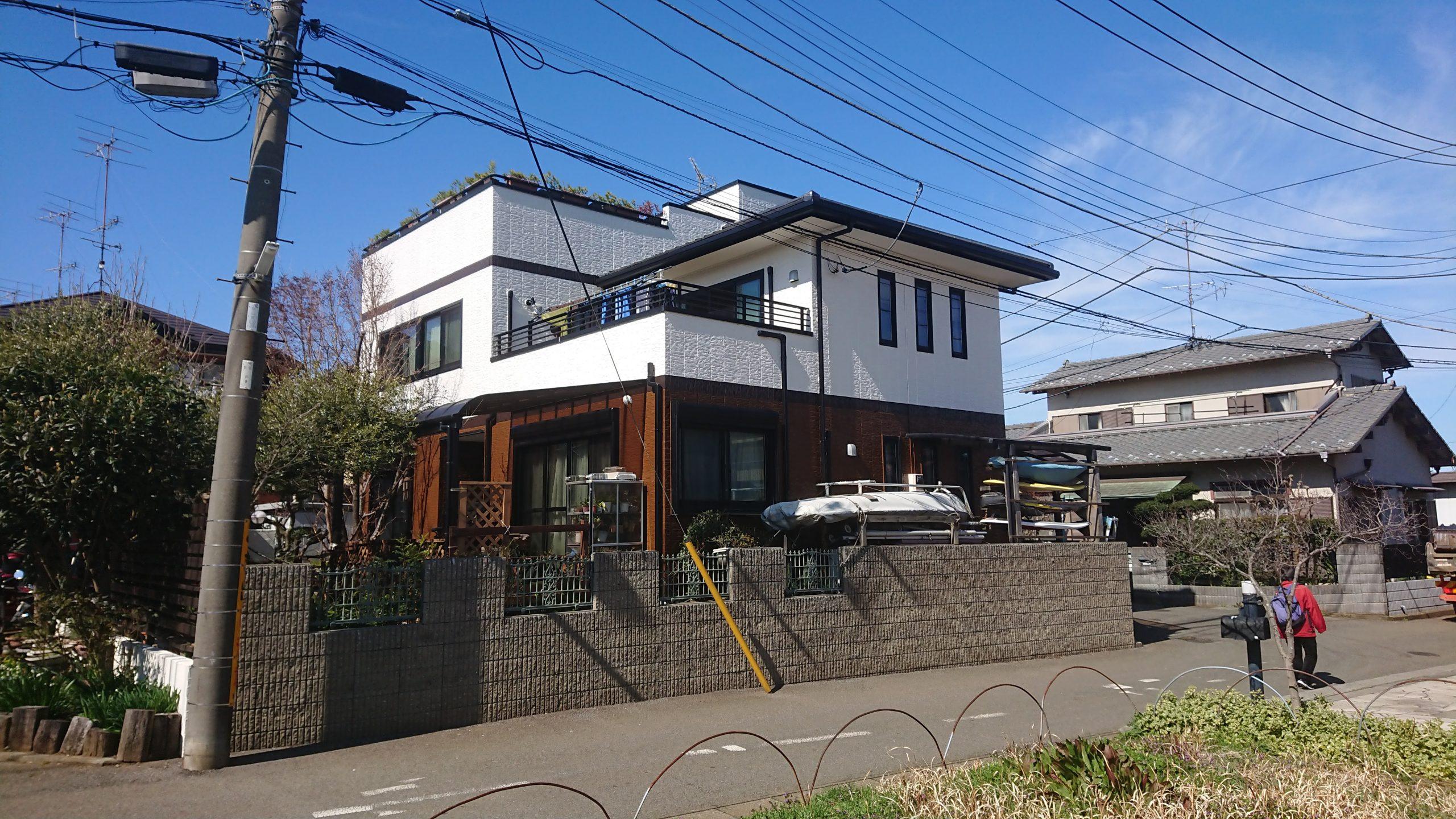 松戸市 N様 外壁塗装工事 完工しました